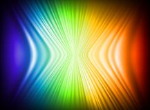 Rainbow Colors Abstract Horizontal Lines card Royalty Free Stock Images