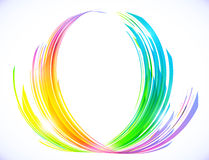 Free Rainbow Colors Abstract Lotus Flower Symbol Stock Photography - 42689282