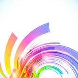 Rainbow colors abstract vector shining background Stock Photo