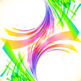 Rainbow colors abstract vector shining background Royalty Free Stock Photography