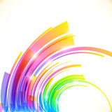 Rainbow colors abstract vector shining background Royalty Free Stock Photo