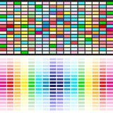 Rainbow colors background Stock Image