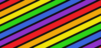Rainbow colors background Stock Images