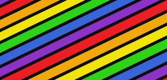 Rainbow colors background stock illustration