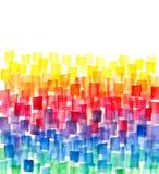 Rainbow Colors Background Stock Photo