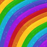Rainbow colors background. Cartoon Background. Wallpaper. Vector Illustration vector illustration