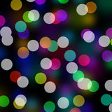 Rainbow Colors Bokeh Royalty Free Stock Photography