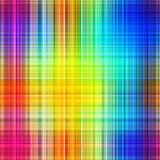 Rainbow colors grid pattern. stock image