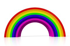 Rainbow, colors, lgbt, homosexual, homo... Royalty Free Stock Photos