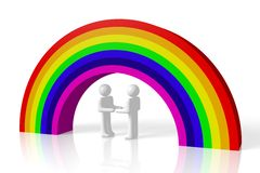 Rainbow, colors, lgbt, homosexual, homo... Stock Images