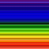 Rainbow colors and lines abstract background. Rainbows hues and lines, in yellow, orange and blue shades, abstract design Royalty Free Stock Photography