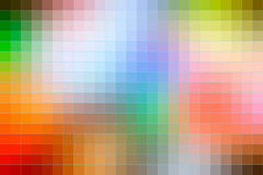 Rainbow colors mosaic square tiles background Royalty Free Stock Image