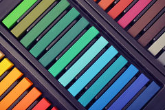 Rainbow colors Stock Images
