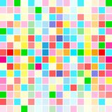Rainbow colors are random scattered Stock Photos