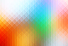 Rainbow colors rows of triangles background royalty free stock image