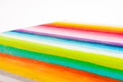 Rainbow colors stripes Royalty Free Stock Photo