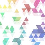 Rainbow colors triangular vector pattern. abstract background eps 10 vector illustration