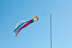 Rainbow colors Wind spinner Stock Photos