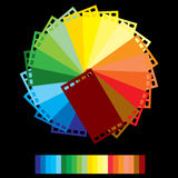 Rainbow colour film Royalty Free Stock Photo