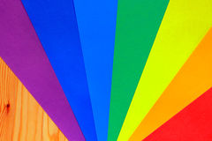 Rainbow colours Stock Image
