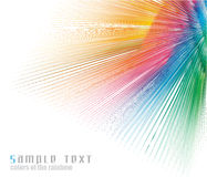 Rainbow Colours Spectrum Business Card Background Royalty Free Stock Photography