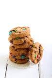 Rainbow cookies Stock Photos