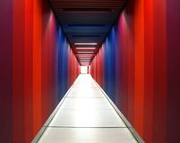 Rainbow Corridor Stock Photography