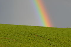 Rainbow Country Landscape Royalty Free Stock Image