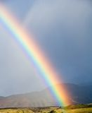 Rainbow in Crimea Stock Images