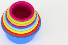 Rainbow Cups Stock Photos