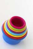 Rainbow Cups Stock Images