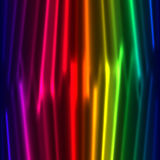 Rainbow curtain background Stock Image