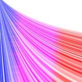 Rainbow curtain Royalty Free Stock Image