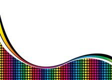 Rainbow curve Royalty Free Stock Photos