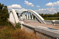 Rainbow Curve Bridge Stock Image