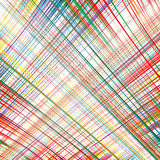 Rainbow curved stripes color line art  background Stock Images