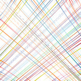 Rainbow curved stripes color line art vector background Royalty Free Stock Photo