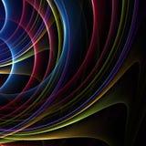 Rainbow Curves Stock Photography