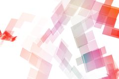 Rainbow Data Tech Royalty Free Stock Photography