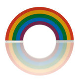 Rainbow decoration object Royalty Free Stock Photography