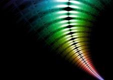 Rainbow dei raggi X Immagini Stock Libere da Diritti