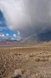 Rainbow del Death Valley Fotografie Stock