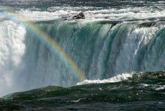 Rainbow del Niagara Falls Fotografia Stock