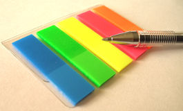 Rainbow dell'ufficio Immagini Stock