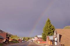 Rainbow della città di Cooke Immagini Stock
