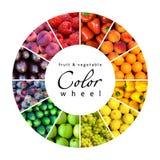 Rainbow della frutta Fotografie Stock Libere da Diritti