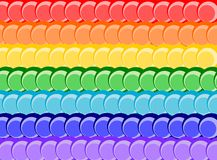 Rainbow della priorità bassa Fotografia Stock