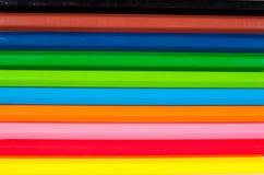 Rainbow delle matite variopinte Fotografie Stock Libere da Diritti
