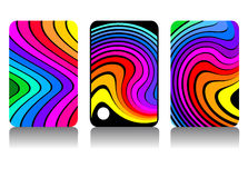 Rainbow design Royalty Free Stock Image