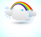 Rainbow design Royalty Free Stock Photography